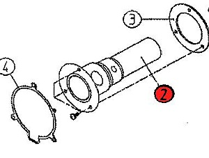 2) Combustion chamber