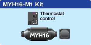 MYH16 Marine + 1 hot air outlet